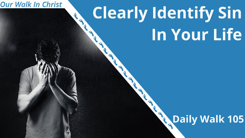 Clearly Identify Sin In Your Life | Daily Walk 105