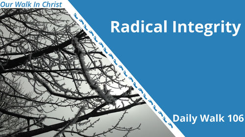 Radical Integrity | Daily Walk 106